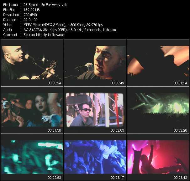 Staind video screenshot