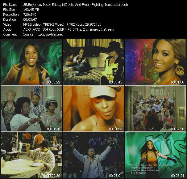 Beyonce, Missy Elliott, MC Lyte And Free video screenshot