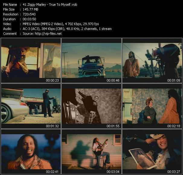 Ziggy Marley video screenshot