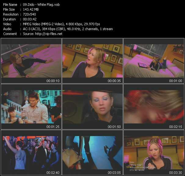 Dido video screenshot