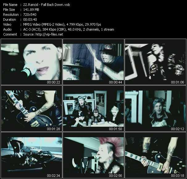 Rancid video screenshot
