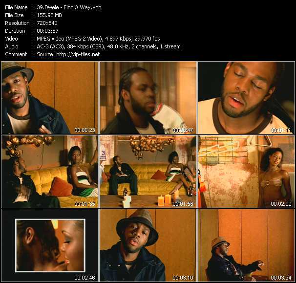 Dwele video screenshot