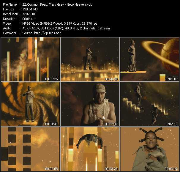 Common Feat. Macy Gray video screenshot