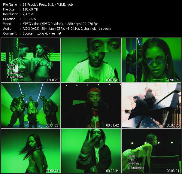 Prodigy Feat. B.G. video screenshot