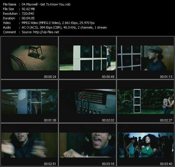 Maxwell video screenshot