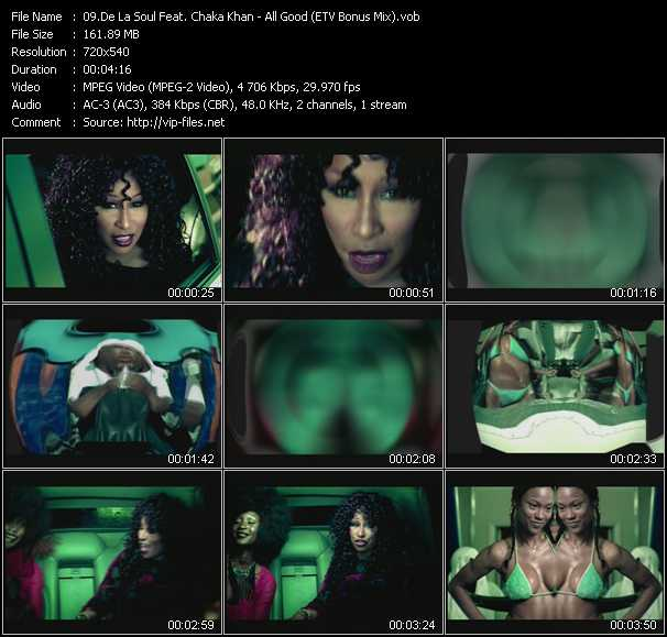 De La Soul Feat. Chaka Khan video screenshot
