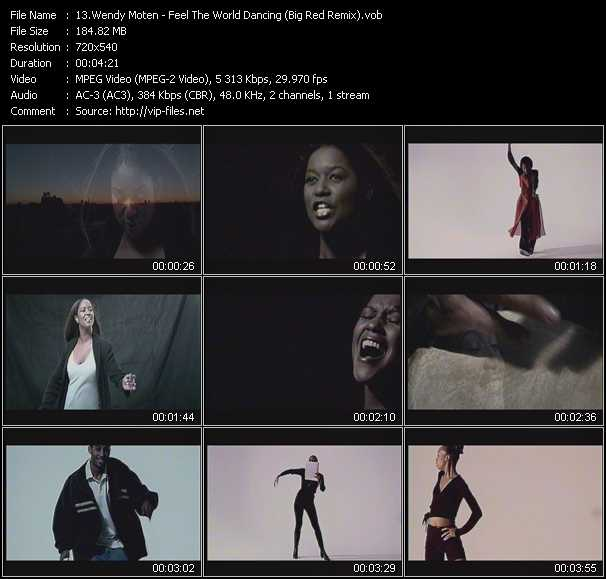 Wendy Moten video screenshot