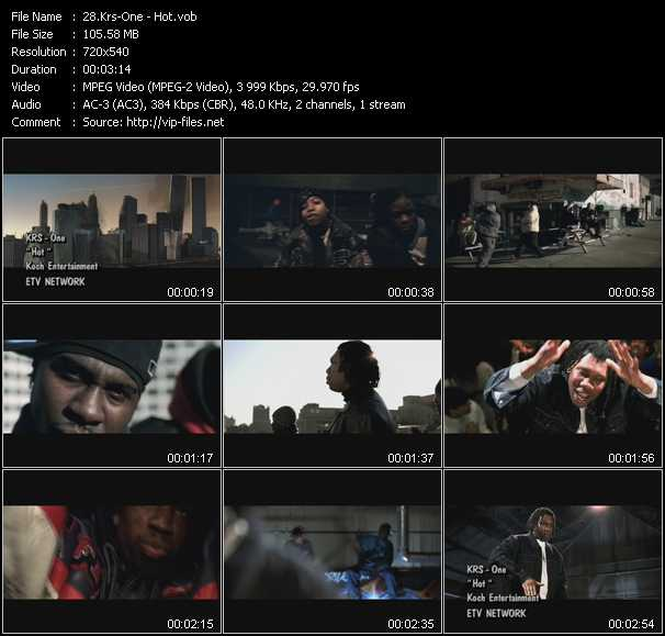 Krs-One video screenshot