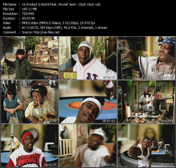 Product G And B Feat. Wyclef Jean video screenshot