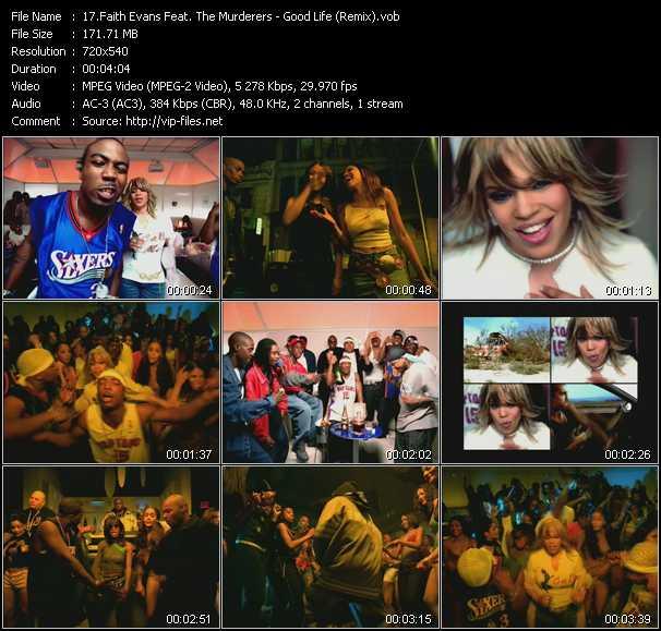 Faith Evans Feat. The Murderers video screenshot
