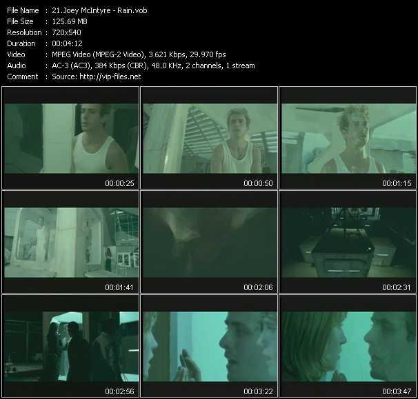 Joey McIntyre video screenshot
