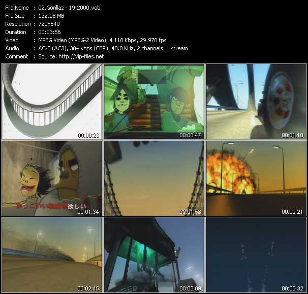 video 19-2000 screen