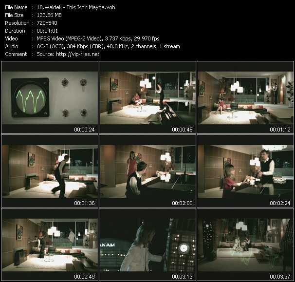 Waldek video screenshot