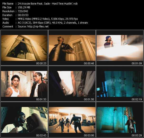 Krayzie Bone Feat. Sade video screenshot
