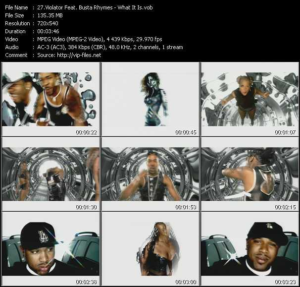Violator Feat. Busta Rhymes video screenshot