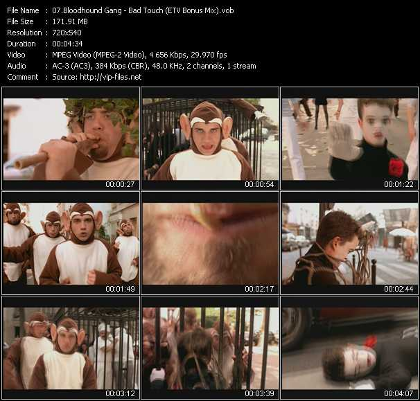 Bloodhound Gang video screenshot