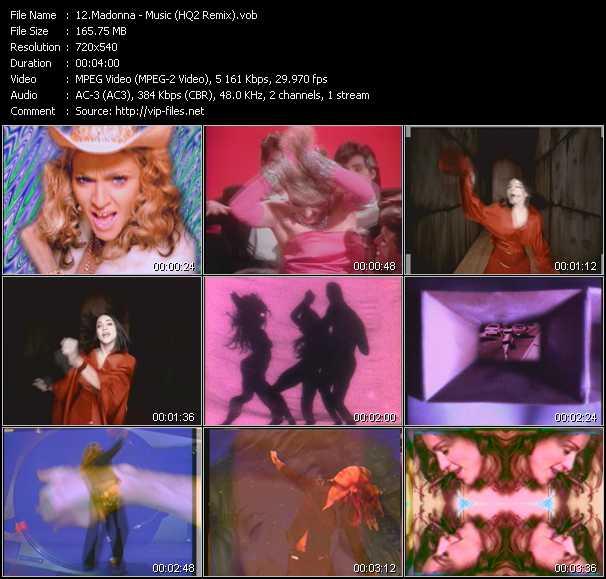 video Music (HQ2 Remix) screen