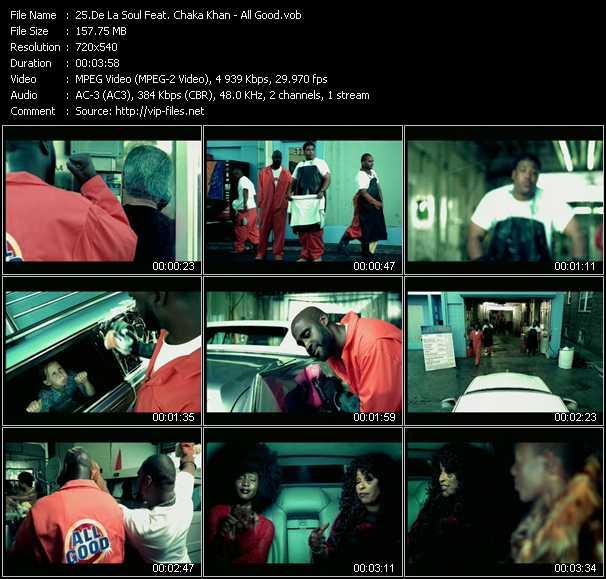 De La Soul Feat. Chaka Khan video screenshot