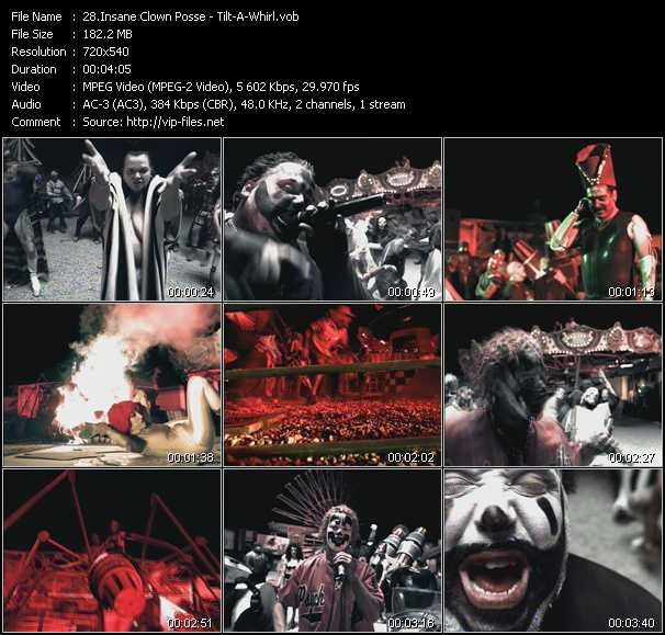 Insane Clown Posse video screenshot