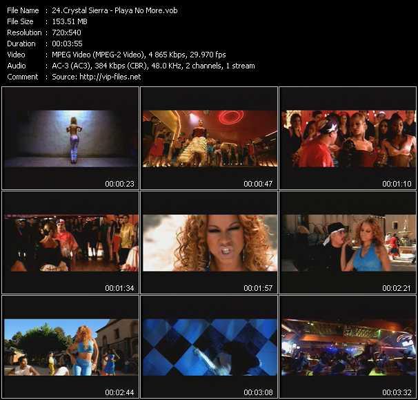 Crystal Sierra video screenshot