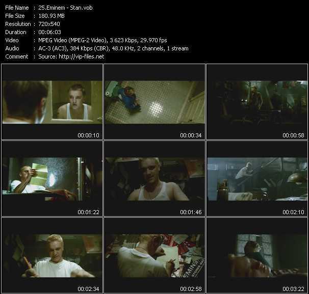 Eminem video screenshot