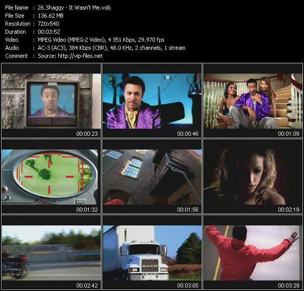 Shaggy video screenshot
