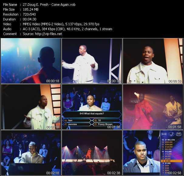 Doug E. Fresh video screenshot
