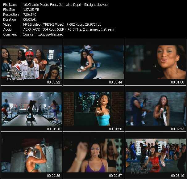Chante Moore Feat. Jermaine Dupri video screenshot