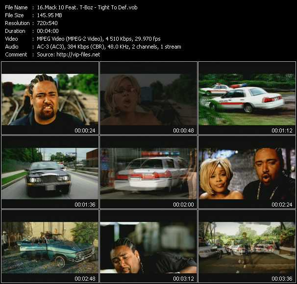 Mack 10 Feat. T-Boz video screenshot