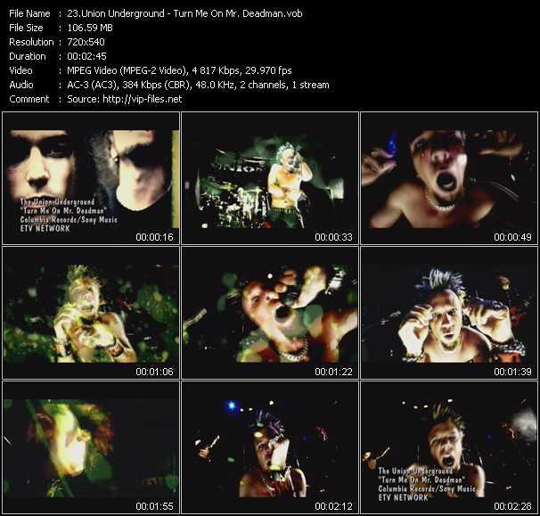 Union Underground video screenshot