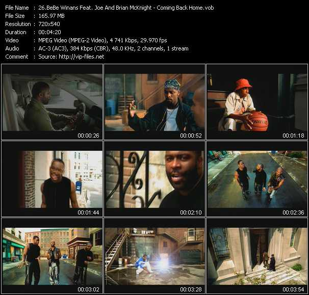 BeBe Winans Feat. Joe And Brian McKnight video screenshot