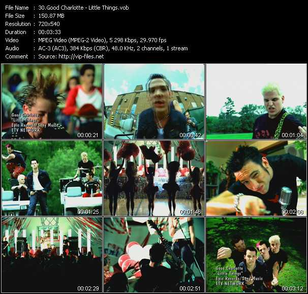 Good Charlotte video screenshot