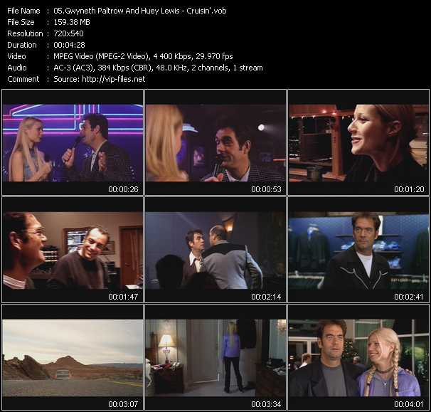 Gwyneth Paltrow And Huey Lewis video screenshot