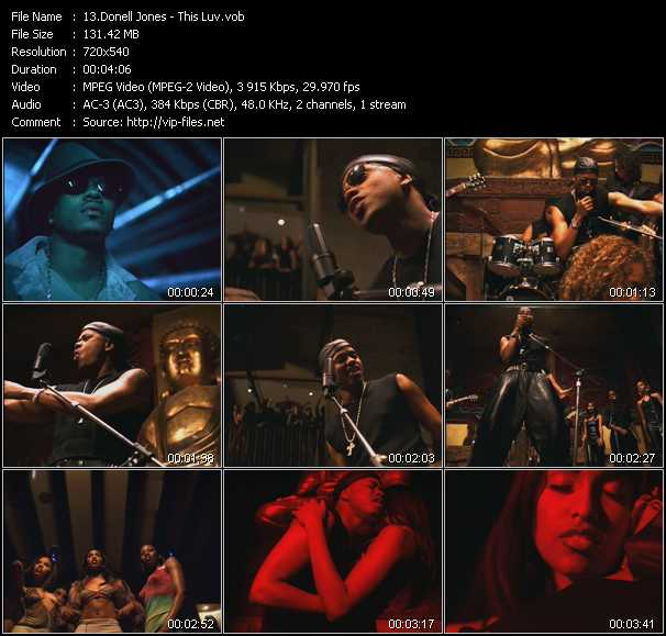 Donell Jones video screenshot