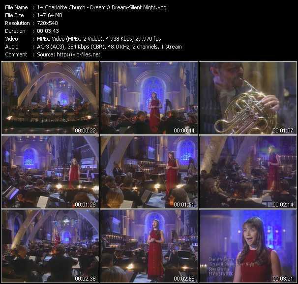 Charlotte Church video screenshot