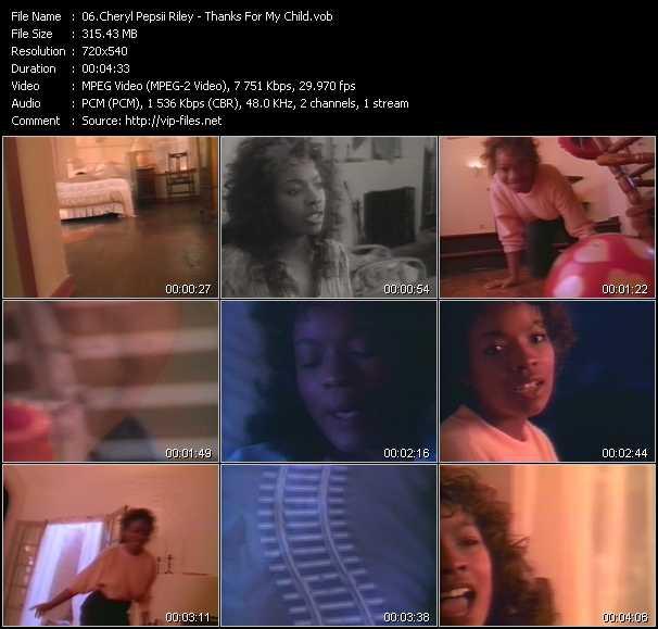 Cheryl Pepsii Riley video screenshot