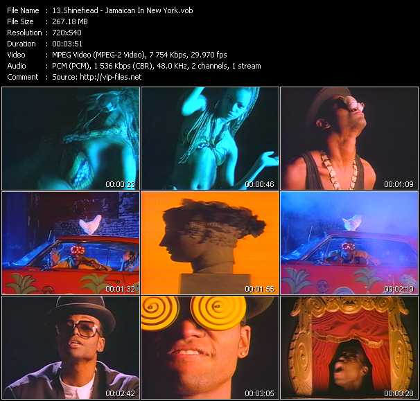 Shinehead video screenshot