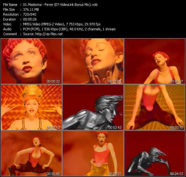 video Fever (ET-VideoLink Bonus Mix) screen