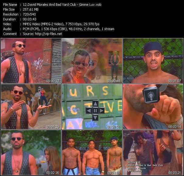 David Morales And Bad Yard Club video screenshot