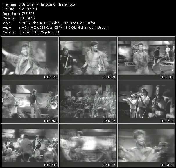 Wham! video screenshot