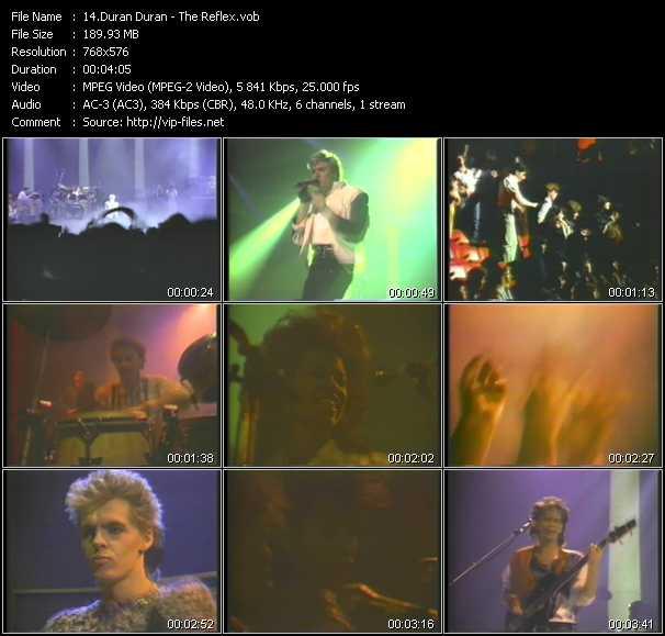 video The Reflex screen