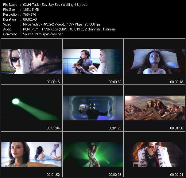 Hi-Tack video screenshot