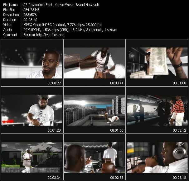 Rhymefest Feat. Kanye West video screenshot
