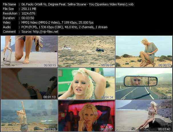 Paolo Ortelli Vs. Degree Feat. Selina Stoane video screenshot