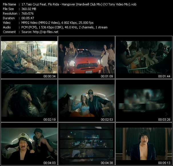 Taio Cruz Feat. Flo Rida video screenshot