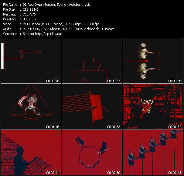 Red Organ Serpent Sound video screenshot