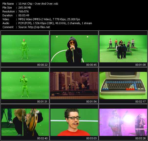 Hot Chip video screenshot