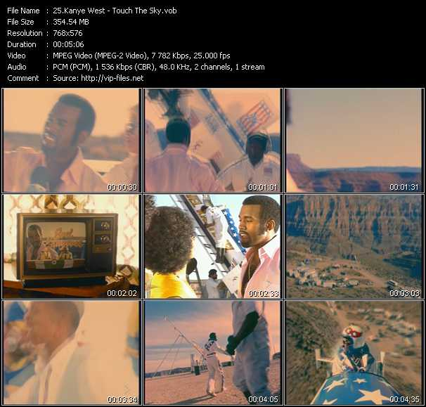 Kanye West Feat. Lupe Fiasco video screenshot