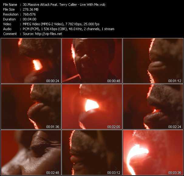 Massive Attack Feat. Terry Callier video screenshot