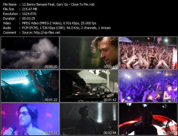 Benny Benassi Feat. Gary Go video screenshot